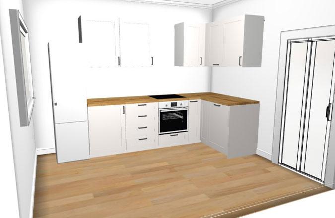 дизайн кухни подготовка проекта выбор фурнитуры и фасадов